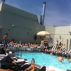 Photo taken at Soho House Rooftop by James K. on 4/21/2012