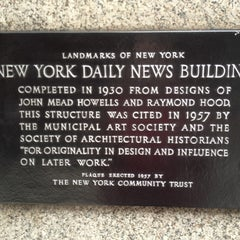 Photo taken at The Daily News Building by John M. on 3/15/2012