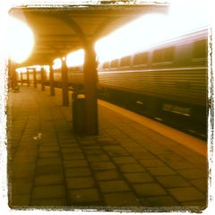 Photo taken at New London Union Station by Jerry Milo J. on 5/8/2012