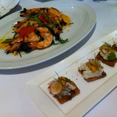 Photo taken at Boulud Sud by Gayoung k. on 3/18/2012
