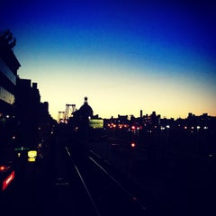Photo taken at MTA Subway - Marcy Ave (J/M/Z) by Adam B. on 4/6/2012