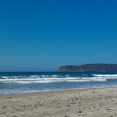 Photo taken at Coronado Beach by Kathryn G. on 6/26/2012