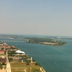 Photo taken at Detroit Marriott at the Renaissance Center by Heather H. on 8/3/2012