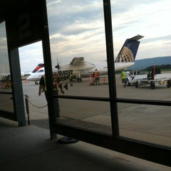Photo taken at University Park Airport (SCE) by Melissa H. on 8/25/2012