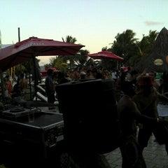 Photo taken at Paparazzi Beach Club by David D. on 2/12/2012