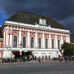 Photo taken at Bahnhof Hamm (Westfalen) by Chris S. on 5/12/2012