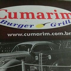 Photo taken at Cumarim Burger Grill by Thayana L. on 4/27/2012