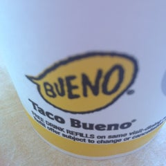 Photo taken at Taco Bueno by Stephani P. on 6/18/2012