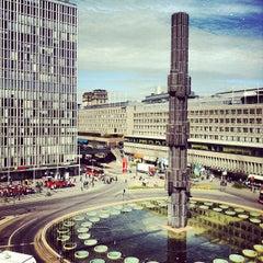 Photo taken at Sergels Torg by Nils K. on 5/3/2012