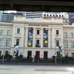 Photo taken at Immigration Museum by Sam F. on 8/12/2012