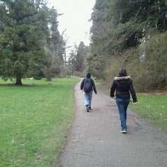 Photo taken at Volunteer Park by Laura on 2/20/2012