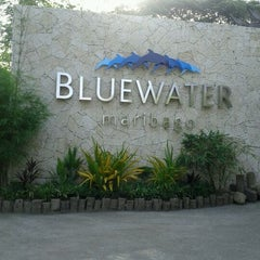 Photo taken at Bluewater Maribago Beach Resort by Veronica V. on 3/9/2012