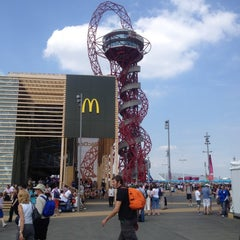 Photo taken at London 2012 Olympic Park by Mike S. on 8/10/2012