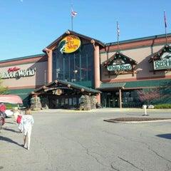 Photo taken at Bass Pro Shops by Karen H. on 4/2/2012