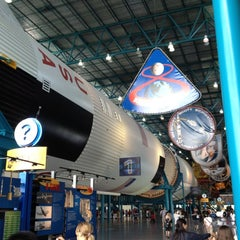 Photo taken at Apollo/Saturn V Center by Bob K. on 7/30/2012