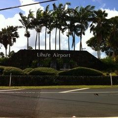 Photo taken at Lihue Airport (LIH) by Rayanne T. on 4/15/2012