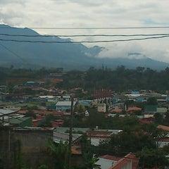 Photo taken at San Isidro de El General by Byron B. on 8/12/2012