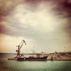 Photo taken at Λιμάνι Ηρακλείου by Thomas P. on 4/13/2012