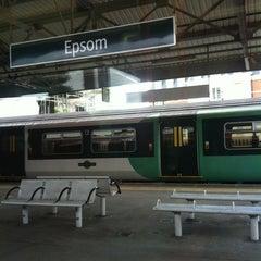 Photo taken at Epsom Railway Station (EPS) by Angela on 6/23/2012