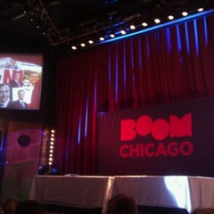 Photo taken at Boom Chicago by Christiaan K. on 9/3/2012