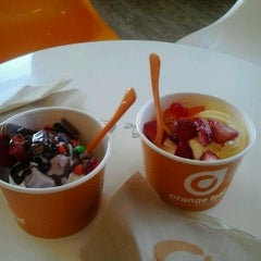 Photo taken at Orange Leaf by Karlee T. on 8/4/2012