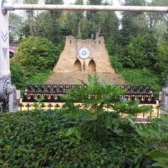 Photo taken at Chessington World of Adventures Resort by Owen C. on 9/10/2012