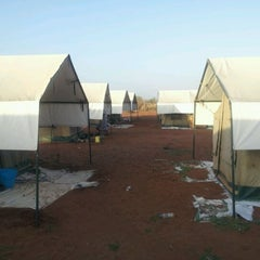 Photo taken at Kenya Red Cross Dadaab base camp by Philip O. on 2/29/2012