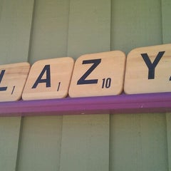 Photo taken at Lazy Jane's Cafe and Bakery by Terrence on 3/10/2012
