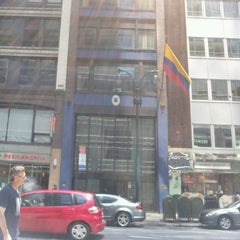 Photo taken at Colombian Consulate by Ricardo T. on 5/28/2012
