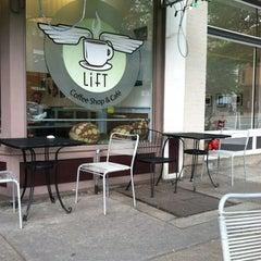 Photo taken at Lift Coffee Shop & Café by Chris P. on 5/17/2012