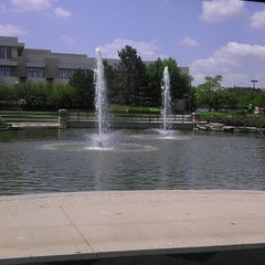 Photo taken at Schaumburg Township District Library by Jose M. on 8/1/2012