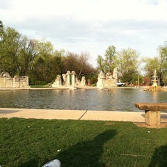 Photo taken at Tower Grove Park by Amanda L. on 3/26/2012