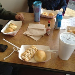 Photo taken at Kolache Factory by Lauren K. on 4/22/2012