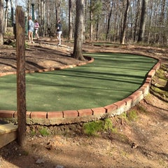 Photo taken at Shenandoah Crossing Miniature Golf by Lincoln P. on 3/26/2012
