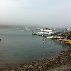 Photo taken at Bar Harbor Pier by Eric F. on 7/15/2012