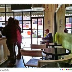 Photo taken at SpaHa Cafe by Saevar H. on 5/11/2012