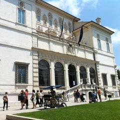 Photo taken at Galleria Borghese by Savas Y. on 6/2/2012