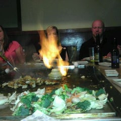 Photo taken at Way Sushi & Teppanyaki by Matthew E. on 4/20/2012