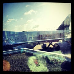 Photo taken at Lufthansa Business Lounge A (Schengen) by Radim S. on 6/9/2012