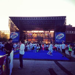 Photo taken at Festival Pier by CJ R. on 4/13/2012