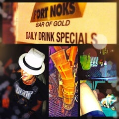 Photo taken at Fort Noks Bar of Gold by Kaitlin B. on 7/1/2012