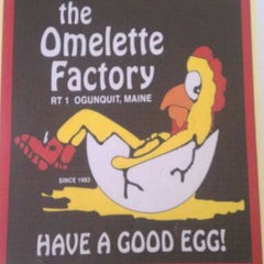 Photo taken at Omelette Factory by Alan H. on 4/28/2012