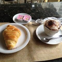 Photo taken at Fran's Café by Giona G. on 5/16/2012