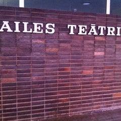 Photo taken at Dailes teātris by Gee Ilze E. on 6/15/2012