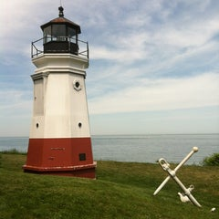 Photo taken at Vermilion Lighthouse by 🍊Just Peachy🍊 on 5/20/2012