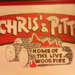 Photo taken at Chris' & Pitt's Restaurant by Steve k. on 7/18/2012