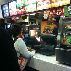 Photo taken at Burger King by Azucena U. on 6/4/2012