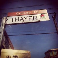 Photo taken at Thayer Street by lukeMV on 8/24/2012