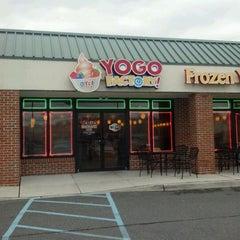 Photo taken at Yogo Factory by Lisa M. on 4/23/2012