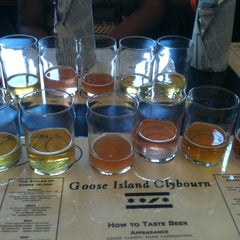 Photo taken at Goose Island Brewery by Jason S. on 7/8/2012